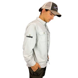 Long Sleeve Sol Patrol II Shirt-Tailored Grey
