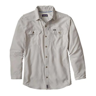 PATAGONIA Long Sleeve Sol Patrol II Shirt-Tailored Grey