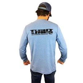 T.L. Logo Tropic Comfort Crew II - Railroad Blue XXL