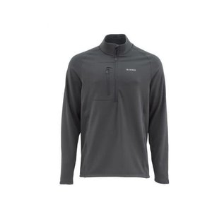 Simms Fleece Midlayer Top - Raven