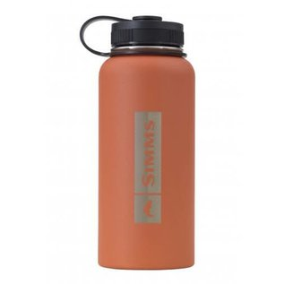 SIMMS Headwaters Insulated Bottle - Simms Orange 32oz.