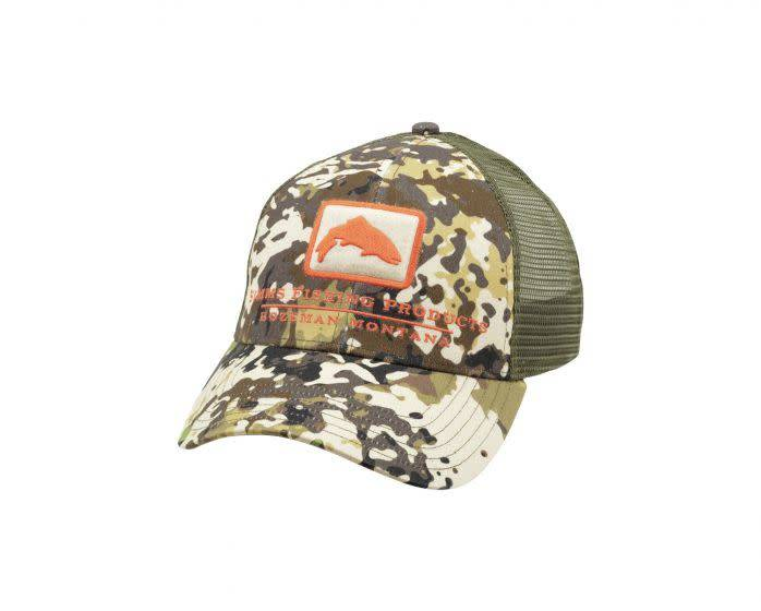 1032213c Trout Icon Trucker - River Camo - Tight Lines Fly Fishing Co.