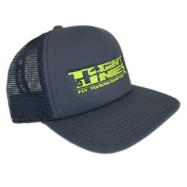 Tight Lines Logo Simms Foam Trucker - Anvil