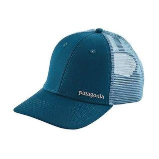 PATAGONIA Patagonia/Tight Lines Small Logo LoPro Trucker Hat Big Sur Blue