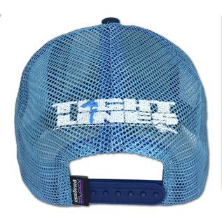 PATAGONIA Patagonia/Tight Lines Small Logo LoPro Trucker Hat Big Sur Blue