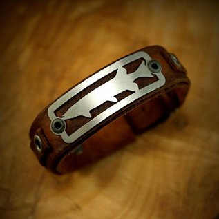 The Catch Bracelet Musky- Brown Leather