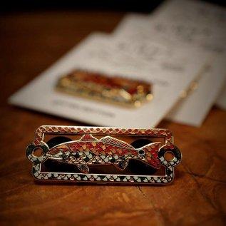 SLP Enamel Pin- Mosaic Redfish