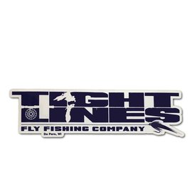 Tight Lines Logo Sticker