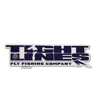 Tight Lines Logo Sticker