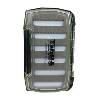 Large Teton Waterproof Double Sided Fly Box Slit Foam 6.5' X 4' X 1.75'