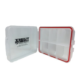 "Small 8 Compartment Water Proof Box 3.75' X 2.5"" X 1'"