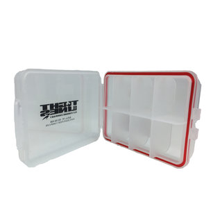 """Small 8 Compartment Water Proof Box 3.75' X 2.5"""" X 1'"""