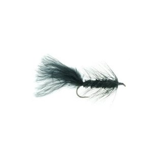Woolly Bugger Black - Size 6