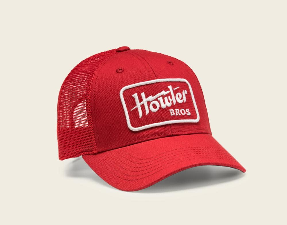 a74661137881a Howler Brothers Electric Hat - Red - Tight Lines Fly Fishing Co.