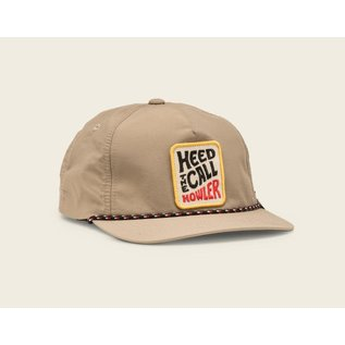 Howler Brothers HTC Vibrations Snapback -  Tan Nylon