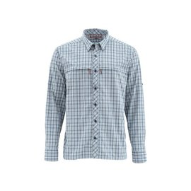 Simms Stone Cold Shirt - Dark Moon Plaid