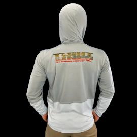 Simms Solarflex Cool Hoody - T.L. Brookie Logo Granite