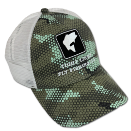 Tight Lines Logo Simms Bass Icon Trucker
