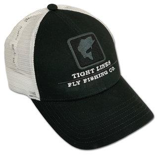 Tight Lines Logo Simms Bass Icon Trucker