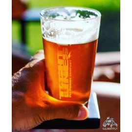 Tight Lines Pint Glass
