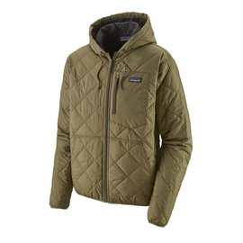 Men's Quilted Bomber Hoody