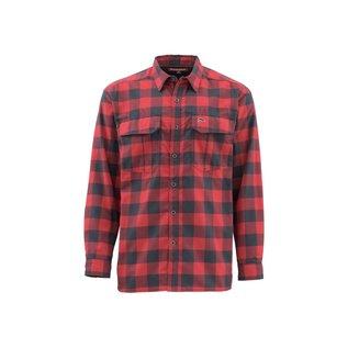 Buffalo Plaid Cold Weather Long Sleeve Winter Shirt - SZ Large