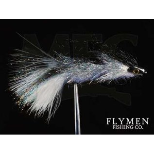 Coffeys Articulated  Sparkle Minnow  -  Smoke #4