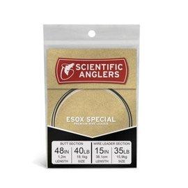"""Esox Special Leader 48"""" 40lb FC w / 15"""" - 35lb NiTi Wire"""