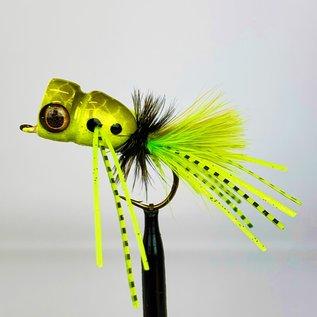 Custom Balsa Frog Popper Sz. 2