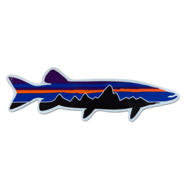 Patagonia Fitzroy Musky Decal- 8 inches