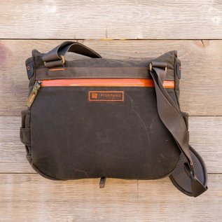 Fishpond Lodgepole Fishing Satchel-Peat Moss