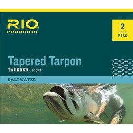 Rio Tapered Tarpon Leader 2 Packs