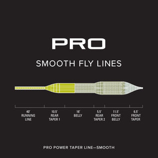 ORVIS Orvis Pro Power Taper Smooth Fly Line