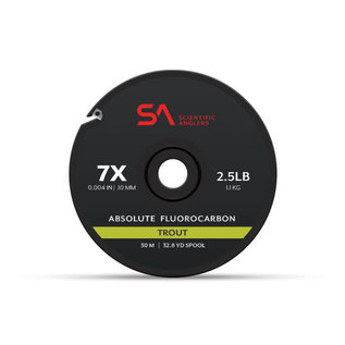 SA Absolute Fluorocarbon Trout Tippet