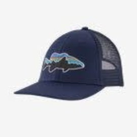 Fitz Roy Smallmouth LoPro Trucker Hat Classic Navy