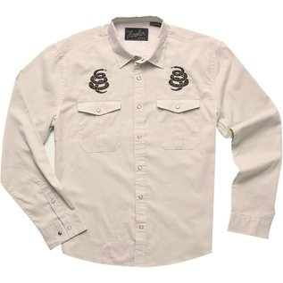 Howler Gaucho Snapshirt Riverbed Oxford Cottonmouth