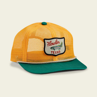 Unstructured Snapback - Howler Club : Gold/Green