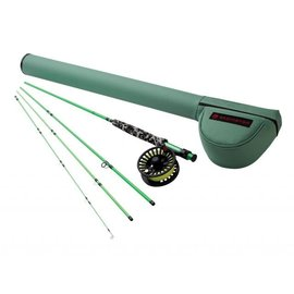"580-4 MINNOW OUTFIT W/ CROSSWATER REEL 5 WT 8'0"""" 4PC COLOR 1"
