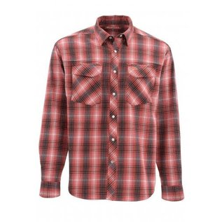 Gallatin Flannel - Garnet Plaid