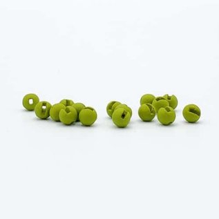 Firehole Slotted Matte Tungsten Beads