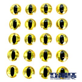 Snake Eyes 8.0mm-Gold Black