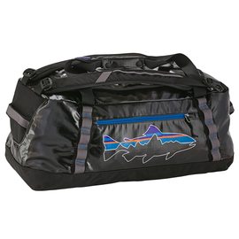 Black Hole Duffel 60L Black w/Fitz Trout