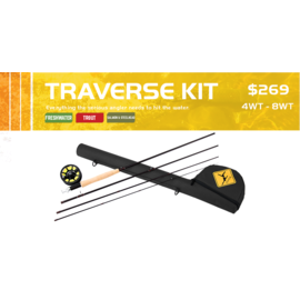 Echo Traverse Rod and Reel Outfit
