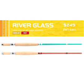 Echo River Glass Fly Rods-Caramel