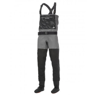 Mens Guide Classic Stockingfoot Wader-Carbon