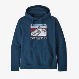 Mens Patagonia Line Logo Ridge Hooded Sweatshirt
