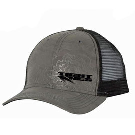 Tight Lines Logo Topo Trucker Hat