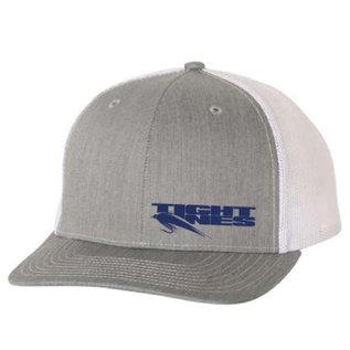 Tight Lines Steel Gray Trucker Hat