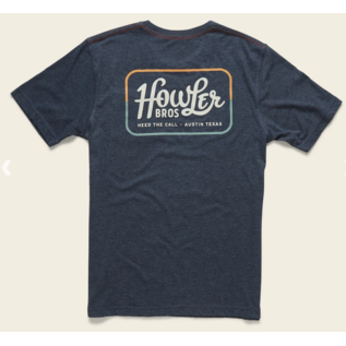 Howler Brothers Classic Pocket T  Navy
