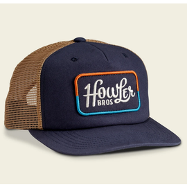Structured Snapback - Howler Classic : Navy/Old Gold